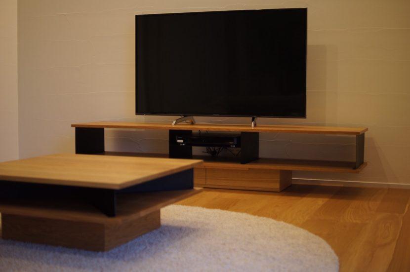 テレビボードローテーブル