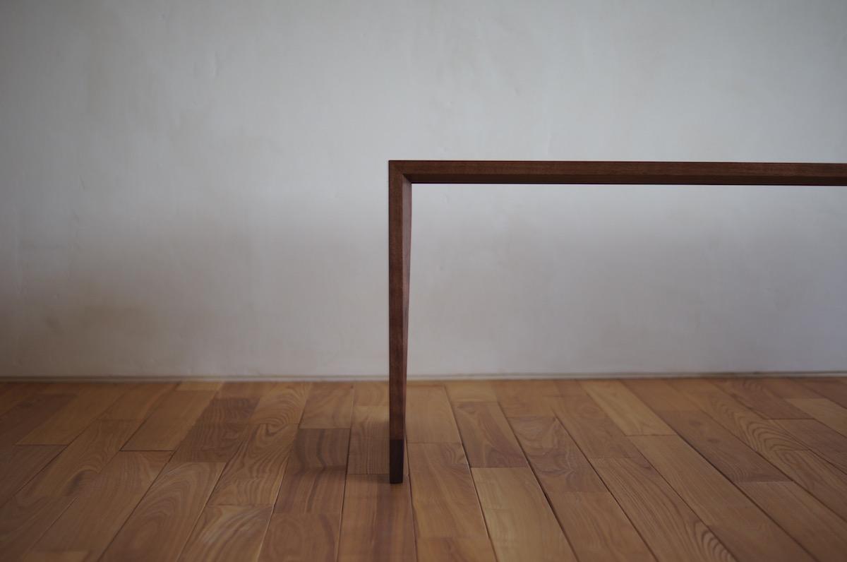ウォールナットローテーブル