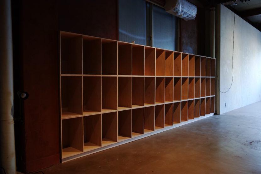 設計事務所本棚